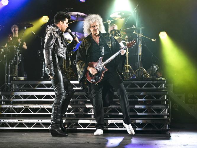 Queen and Adam Lambert: Of course, the classic rock band and modern star pairing can&#39;&#39;t get any better than Queen and Adam Lambert. The team have been wowing audiences around the globe with their latest tour, and Lambert brings a new sparkle to the songs. Not bad at all.